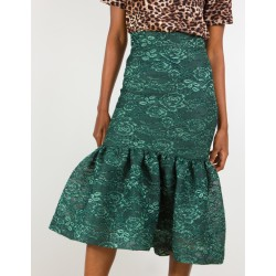 Emerald Panama Skirt