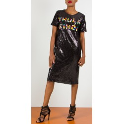 Thula Sindi Sequin T-Dress