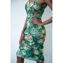Flora Strapless Dress