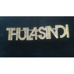THULA SINDI crystal Brooch (super gold)